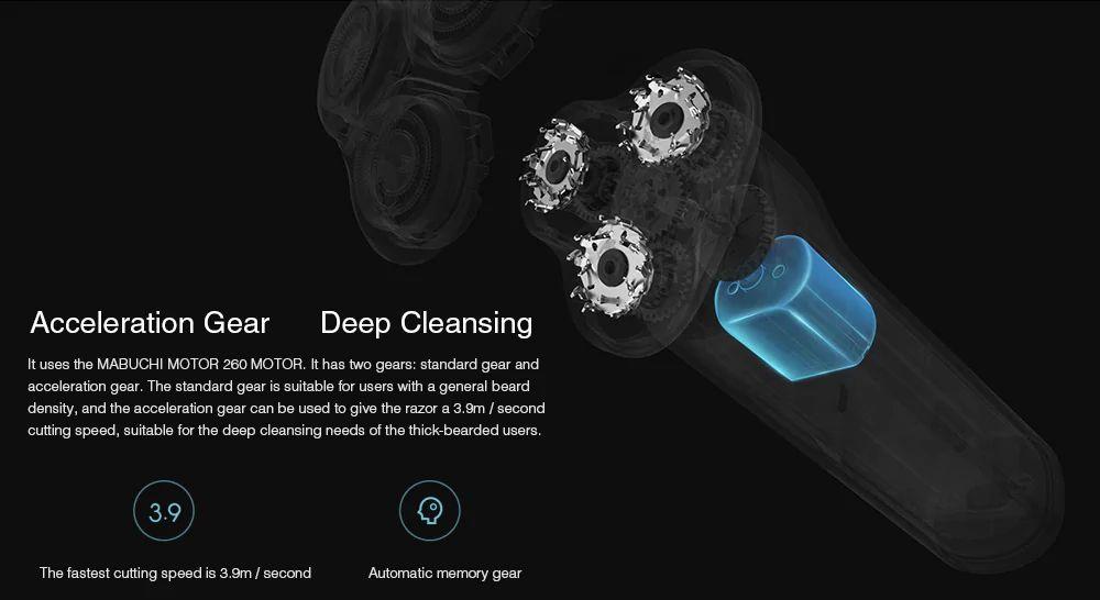 Xiaomi Mijia 360 Degree Float Shaving Electric Shaver (1)