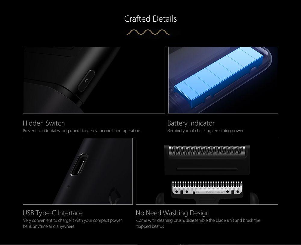 Xiaomi Mijia Portable Electric Shaver Foil Frame (10)