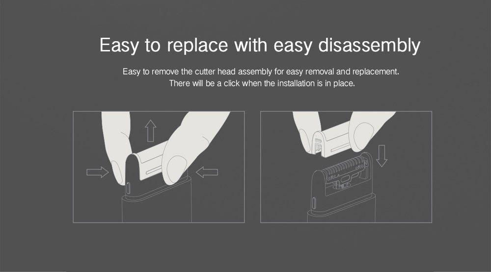 Xiaomi Mijia Portable Electric Shaver Foil Frame (8)