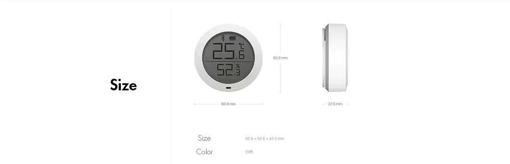 Xiaomi Mijia Smart Temperature And Humidity Sensor (9)