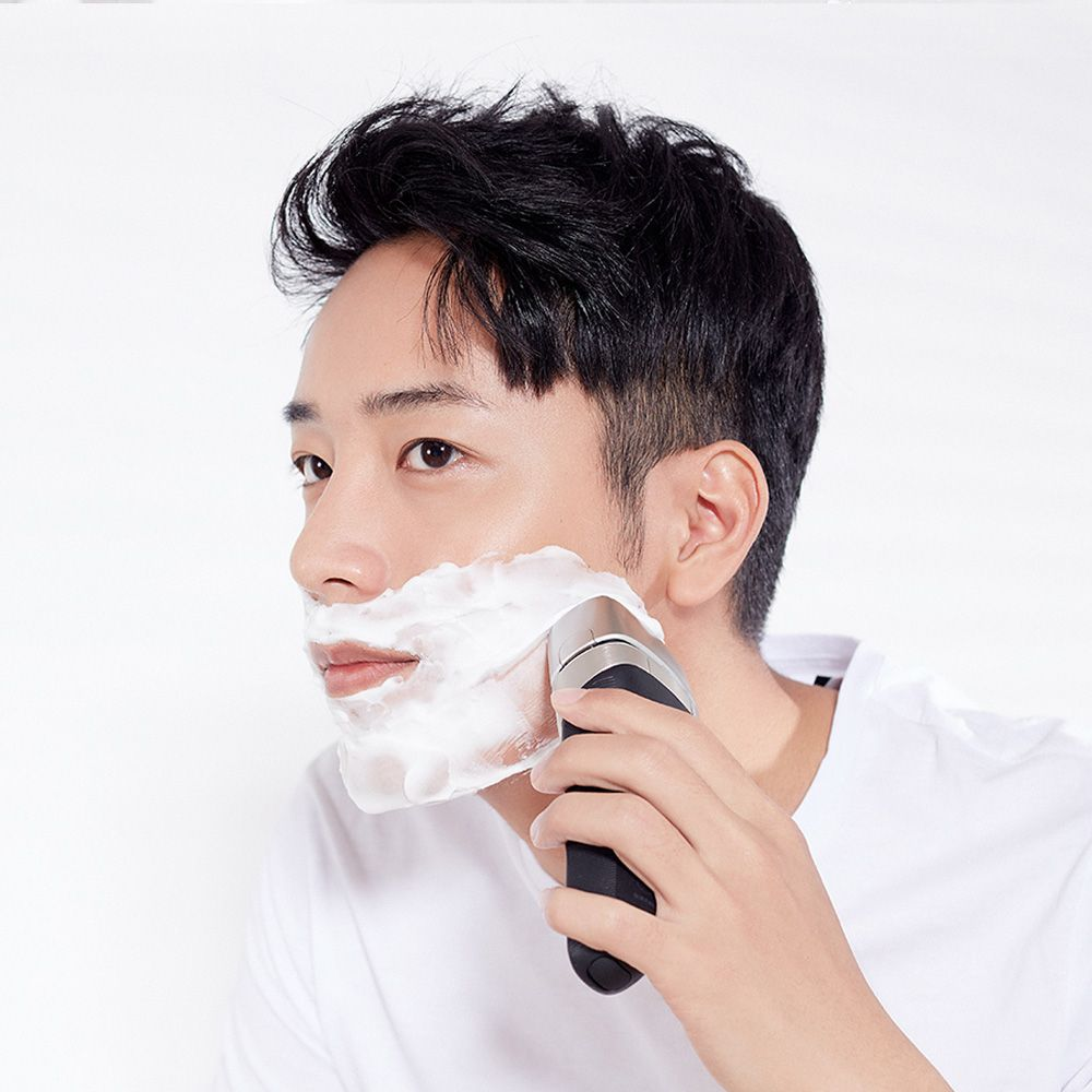 Xiaomi Mijia Smate 4 Blade Electric Razor For Dry And Wet Shave (1)