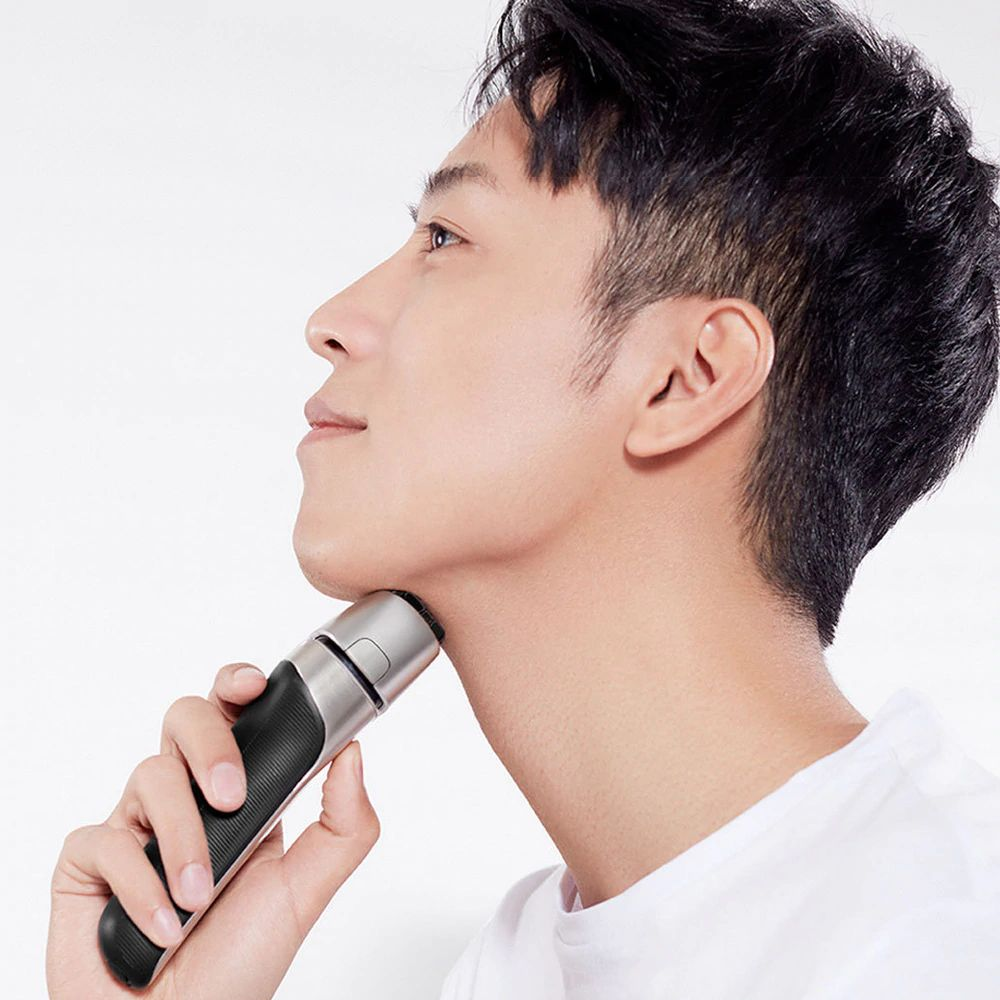Xiaomi Mijia Smate 4 Blade Electric Razor For Dry And Wet Shave (11)