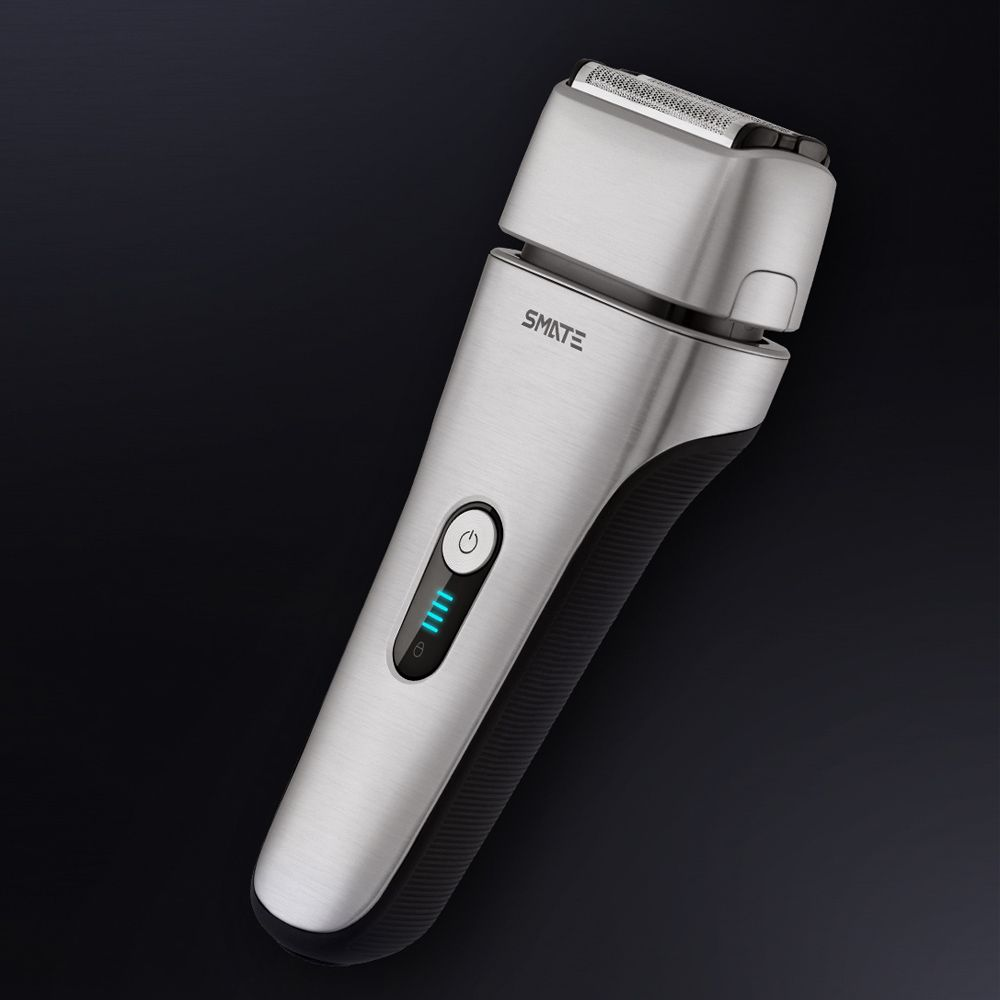 Xiaomi Mijia Smate 4 Blade Electric Razor For Dry And Wet Shave (12)
