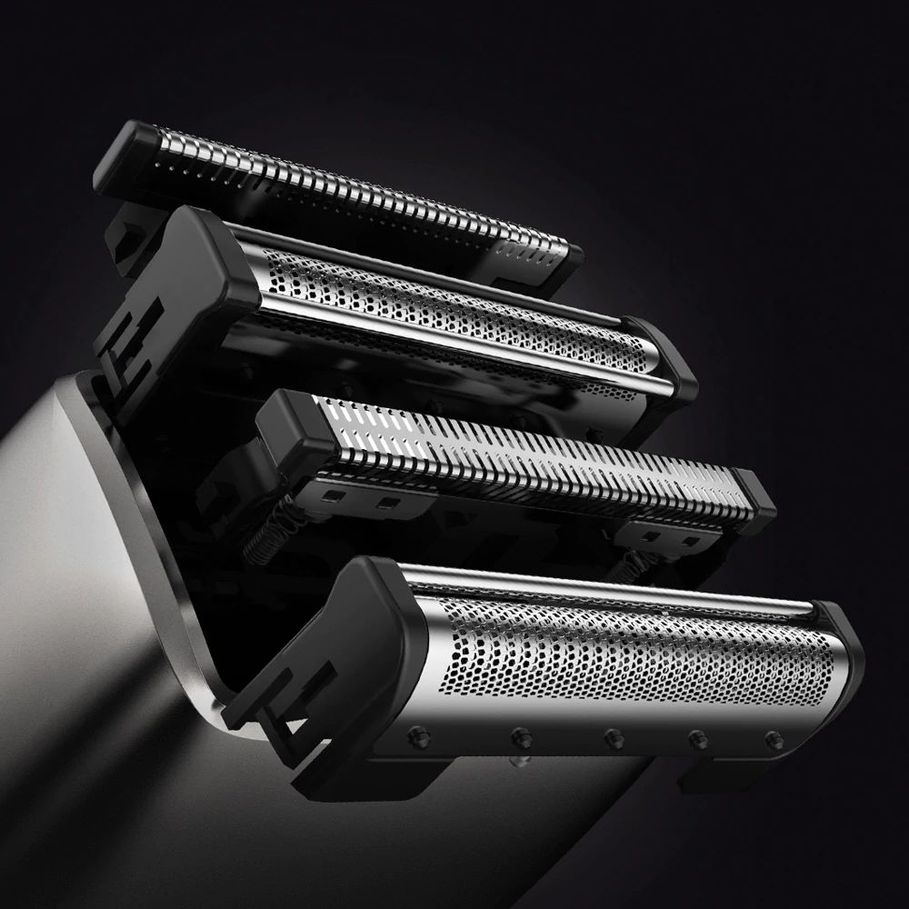 Xiaomi Mijia Smate 4 Blade Electric Razor For Dry And Wet Shave (3)