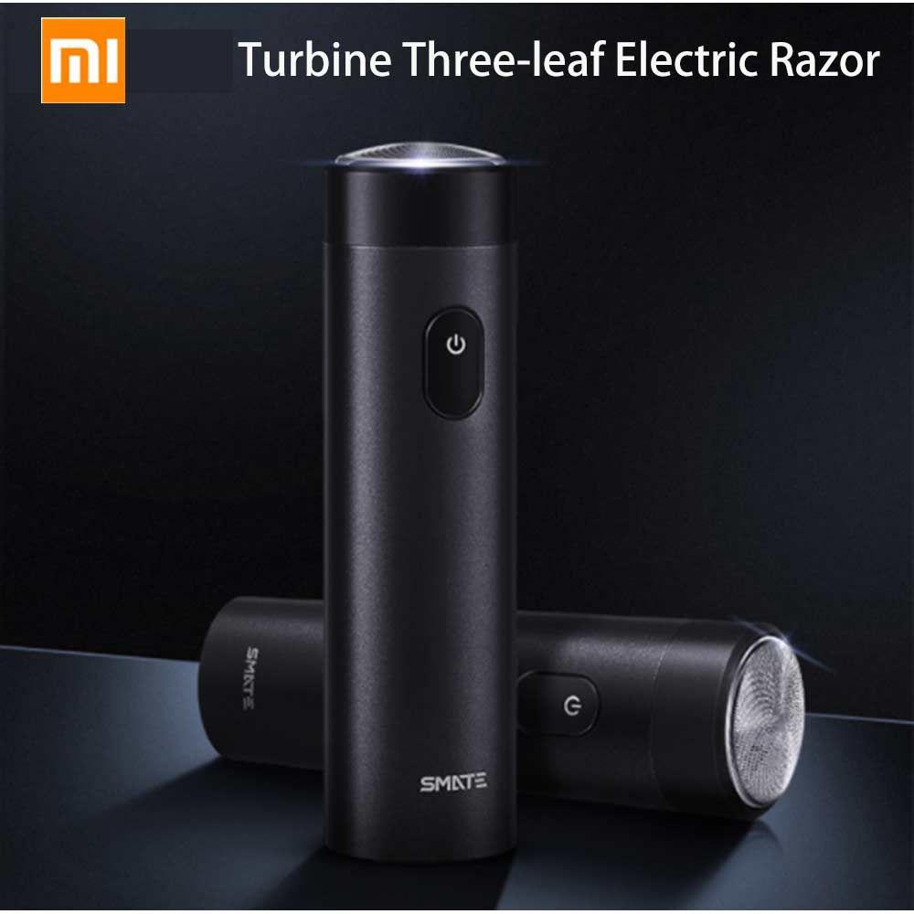 Xiaomi Mijia Smate Portable Turbine Three Leaf Electric Razor (4)