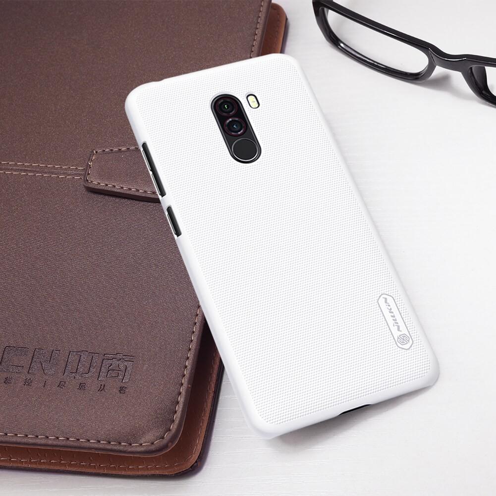 Xiaomi Poco F1 Nillkin Super Frosted Shield Matte Cover Case (11)