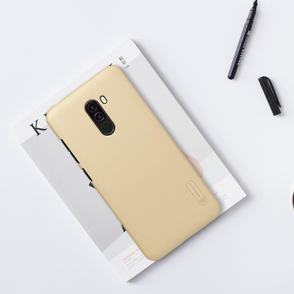 Xiaomi Poco F1 Nillkin Super Frosted Shield Matte Cover Case (12)