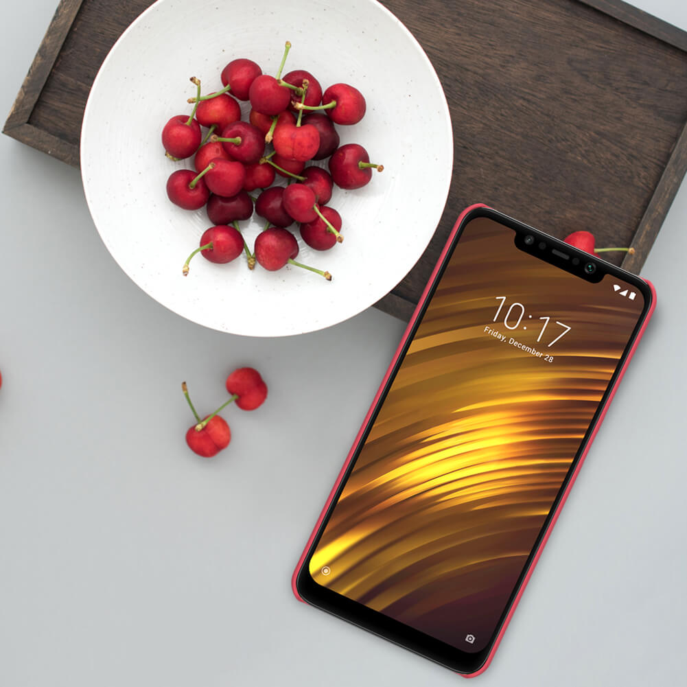 Xiaomi Poco F1 Nillkin Super Frosted Shield Matte Cover Case (13)