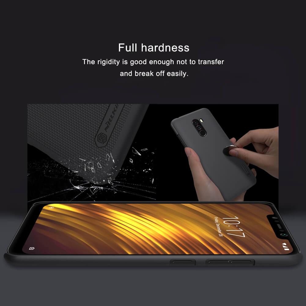 Xiaomi Poco F1 Nillkin Super Frosted Shield Matte Cover Case (3)