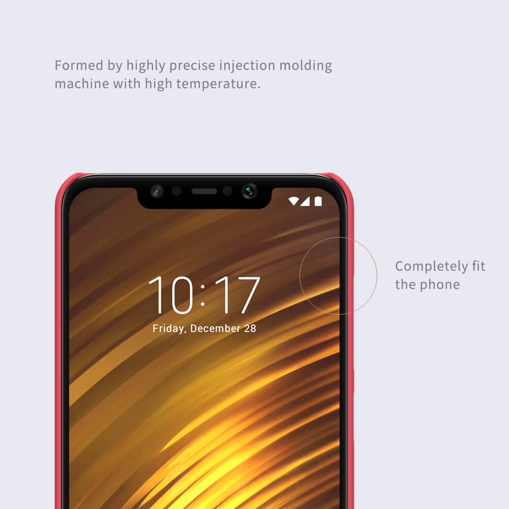 Xiaomi Poco F1 Nillkin Super Frosted Shield Matte Cover Case (6)