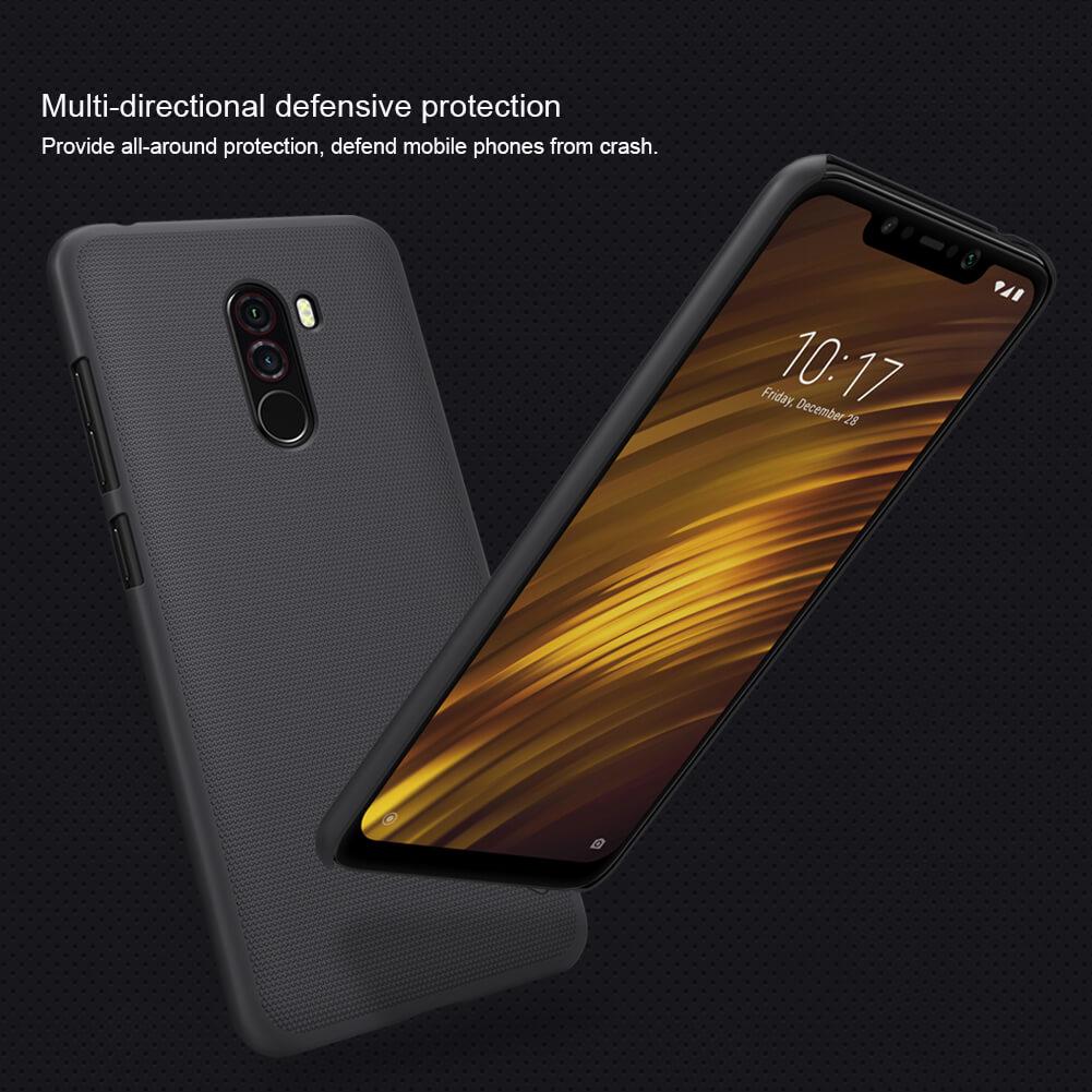 Xiaomi Poco F1 Nillkin Super Frosted Shield Matte Cover Case (7)