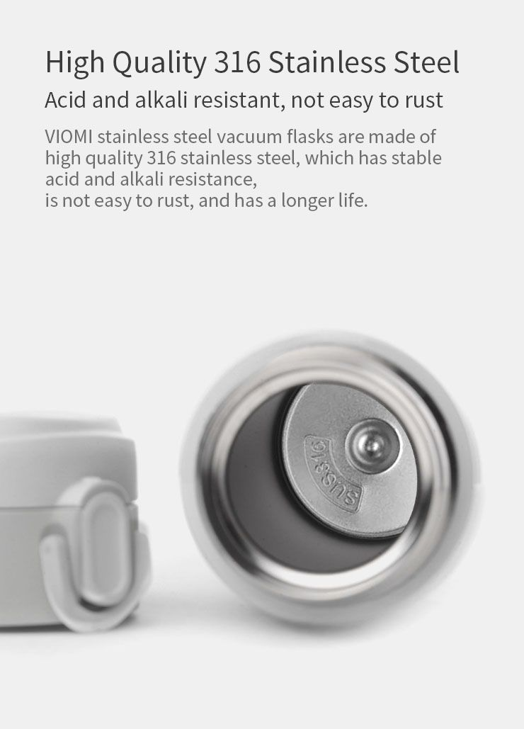 Xiaomi Viomi 460ml Stainless Steel Vacuum Cup (9)