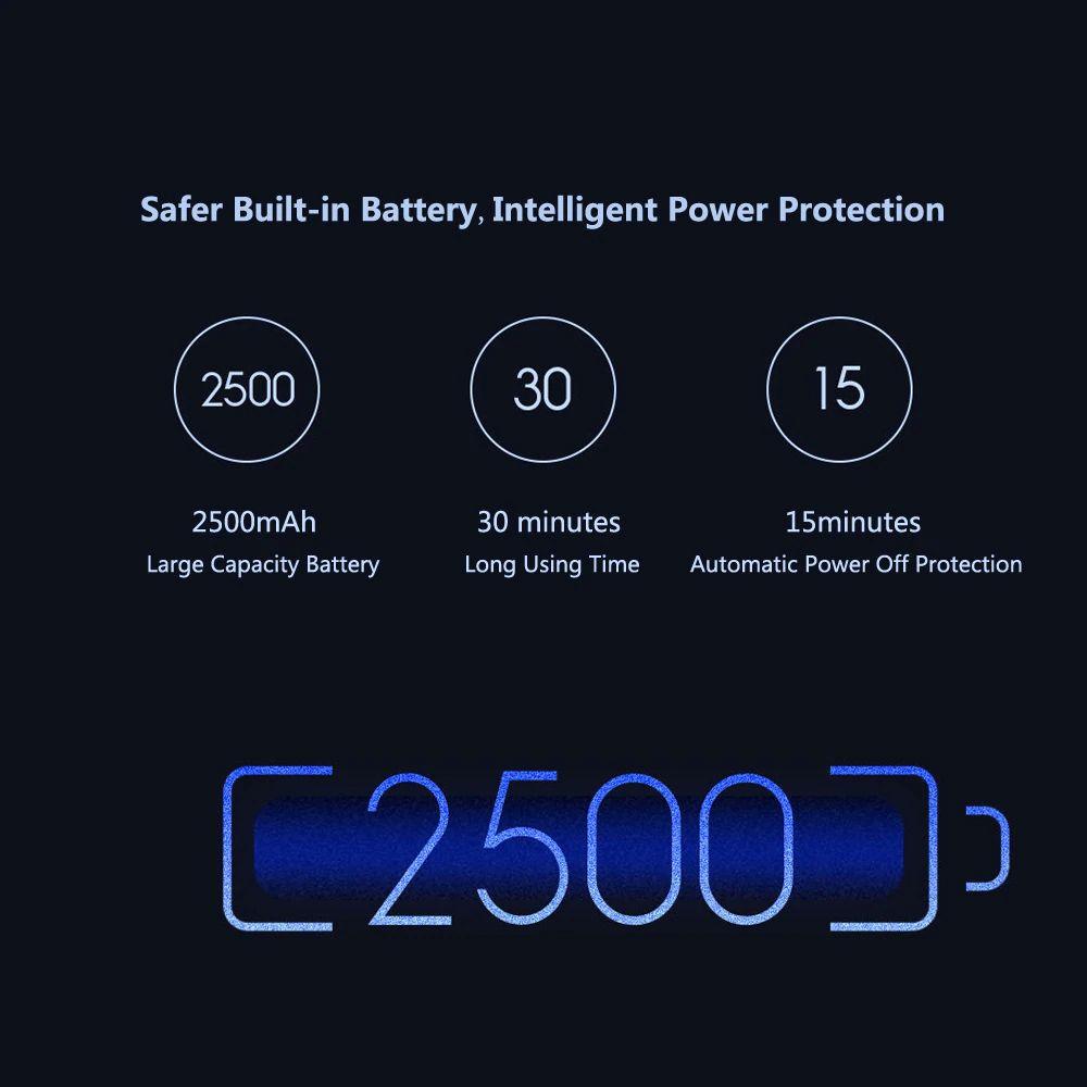Xiaomi Yueli Wireless Mini Hair Straightener Wireless 2500mah Battery Power Bank (14)