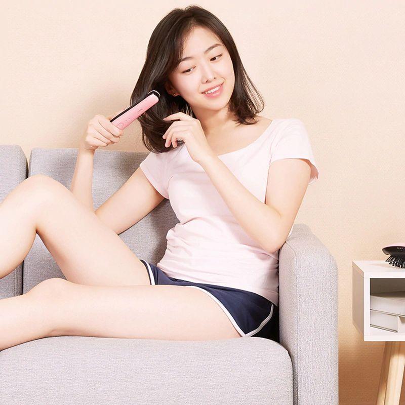 Xiaomi Yueli Wireless Mini Hair Straightener Wireless 2500mah Battery Power Bank (4)
