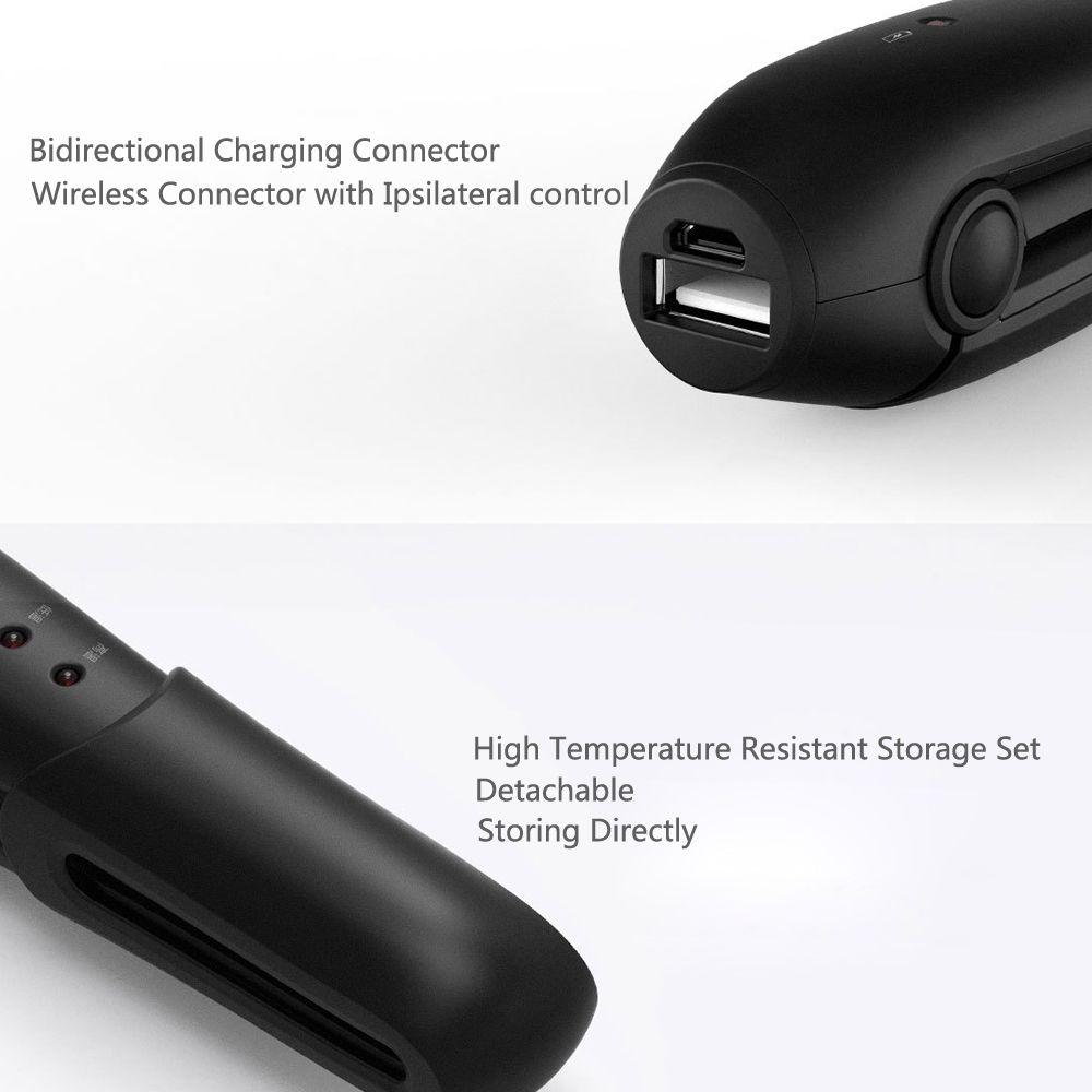 Xiaomi Yueli Wireless Mini Hair Straightener Wireless 2500mah Battery Power Bank (7)