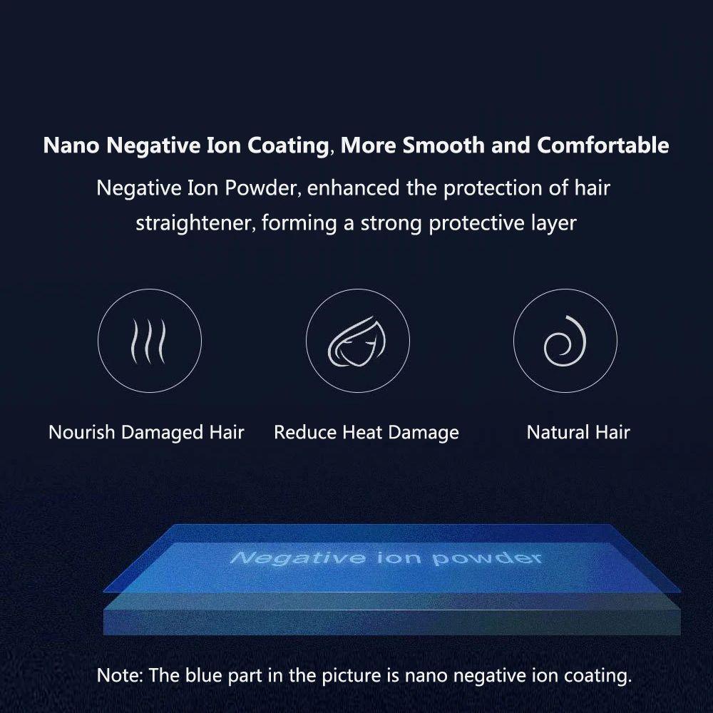 Xiaomi Yueli Wireless Mini Hair Straightener Wireless 2500mah Battery Power Bank (9)