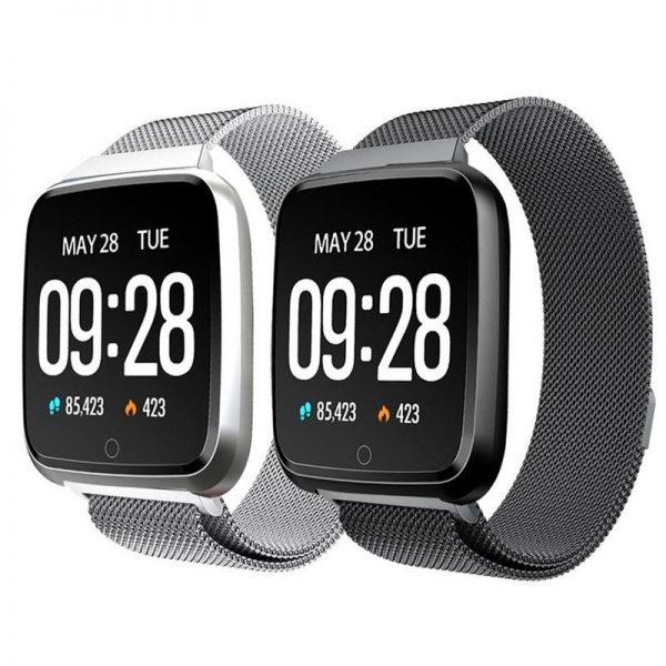Y7 Magnetic Steel Belt Smartwatch (1)