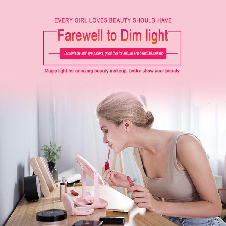 Multi Functional Led Makeup Lamp Mirror Rk 36 (10)