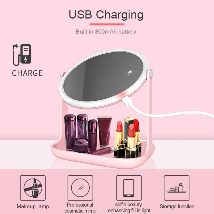 Multi Functional Led Makeup Lamp Mirror Rk 36 (7)