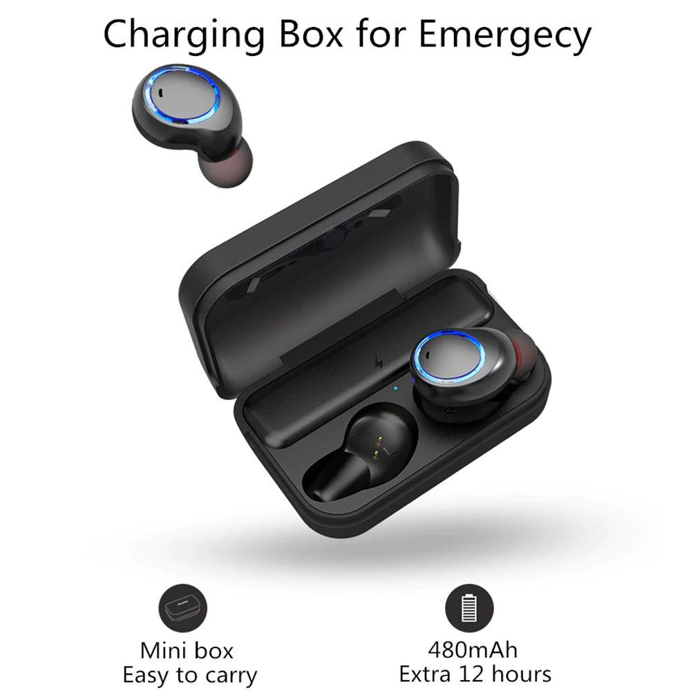 Awei T3 Tws Binaural Bluetooth Earphones Wireless Earbuds (11)