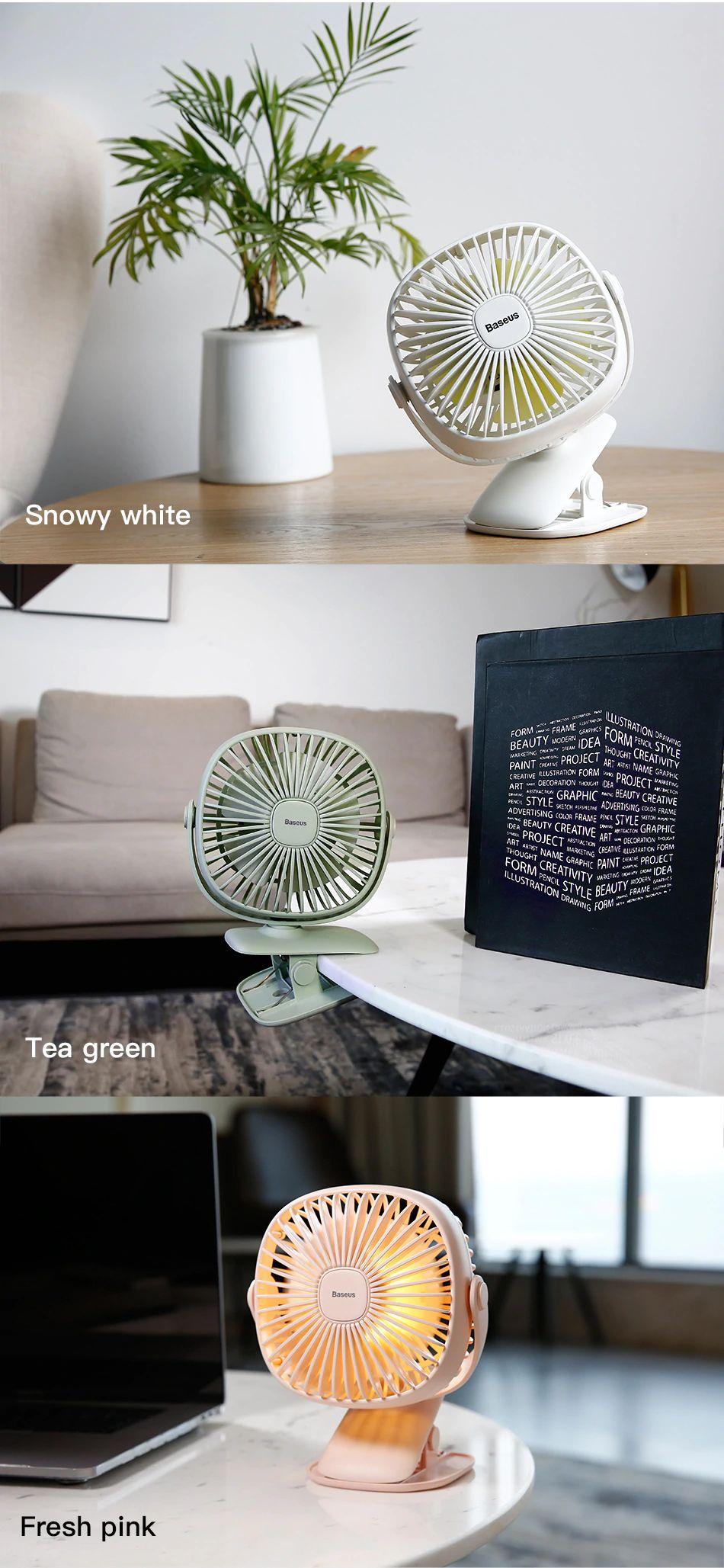 Baseus 2000mah Rechargeable Cooling Fan (3)