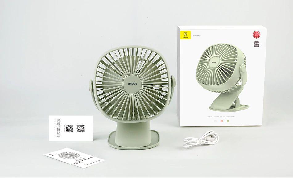 Baseus 2000mah Rechargeable Cooling Fan (4)
