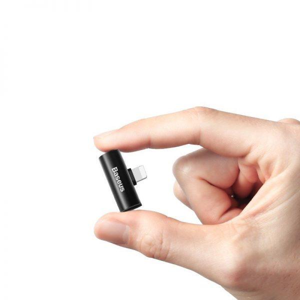 Baseus Audio Converter L46 Adapter From Lightning To 2x Lightning Port (16)
