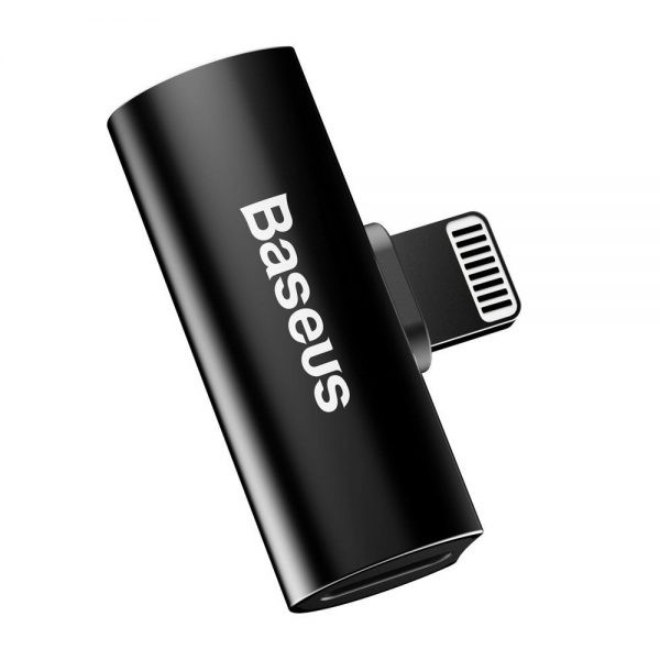 Baseus Audio Converter L46 Adapter From Lightning To 2x Lightning Port (4)