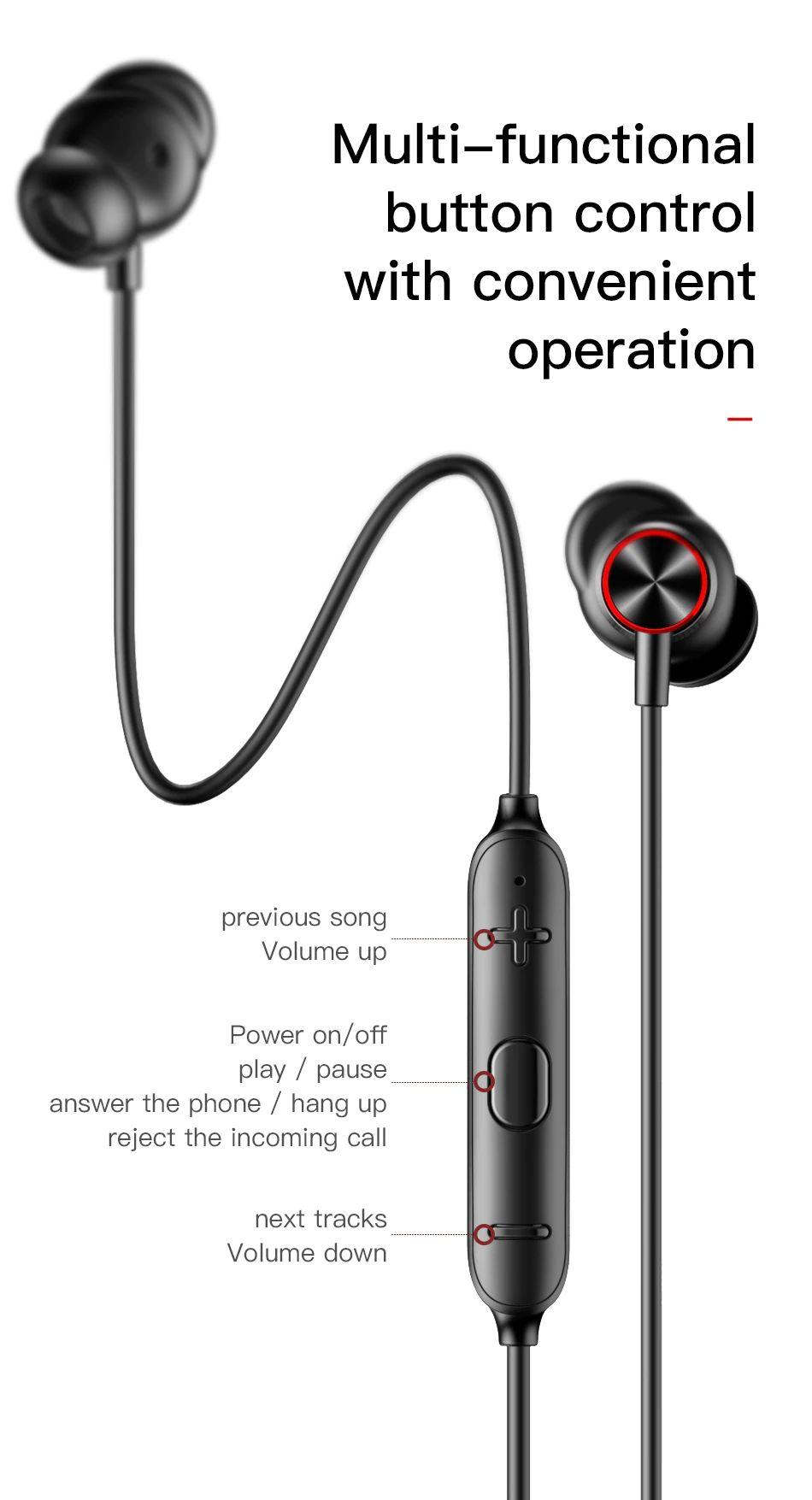 Baseus Encok S12 Bluetooth 5 0 Neckband (11)