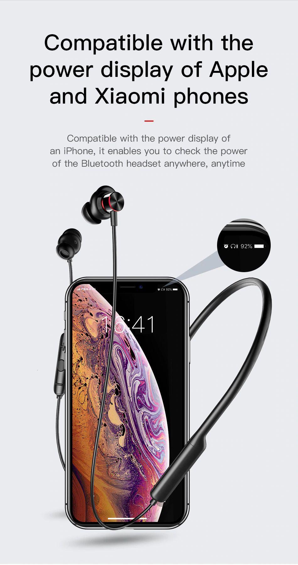 Baseus Encok S12 Bluetooth 5 0 Neckband (14)