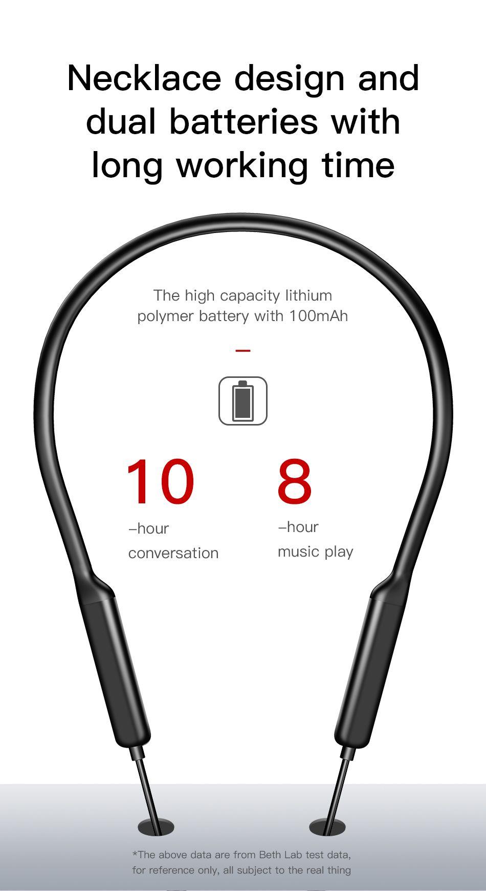 Baseus Encok S12 Bluetooth 5 0 Neckband (18)