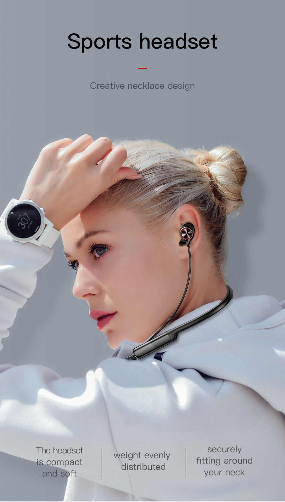 Baseus Encok S12 Bluetooth 5 0 Neckband (3)