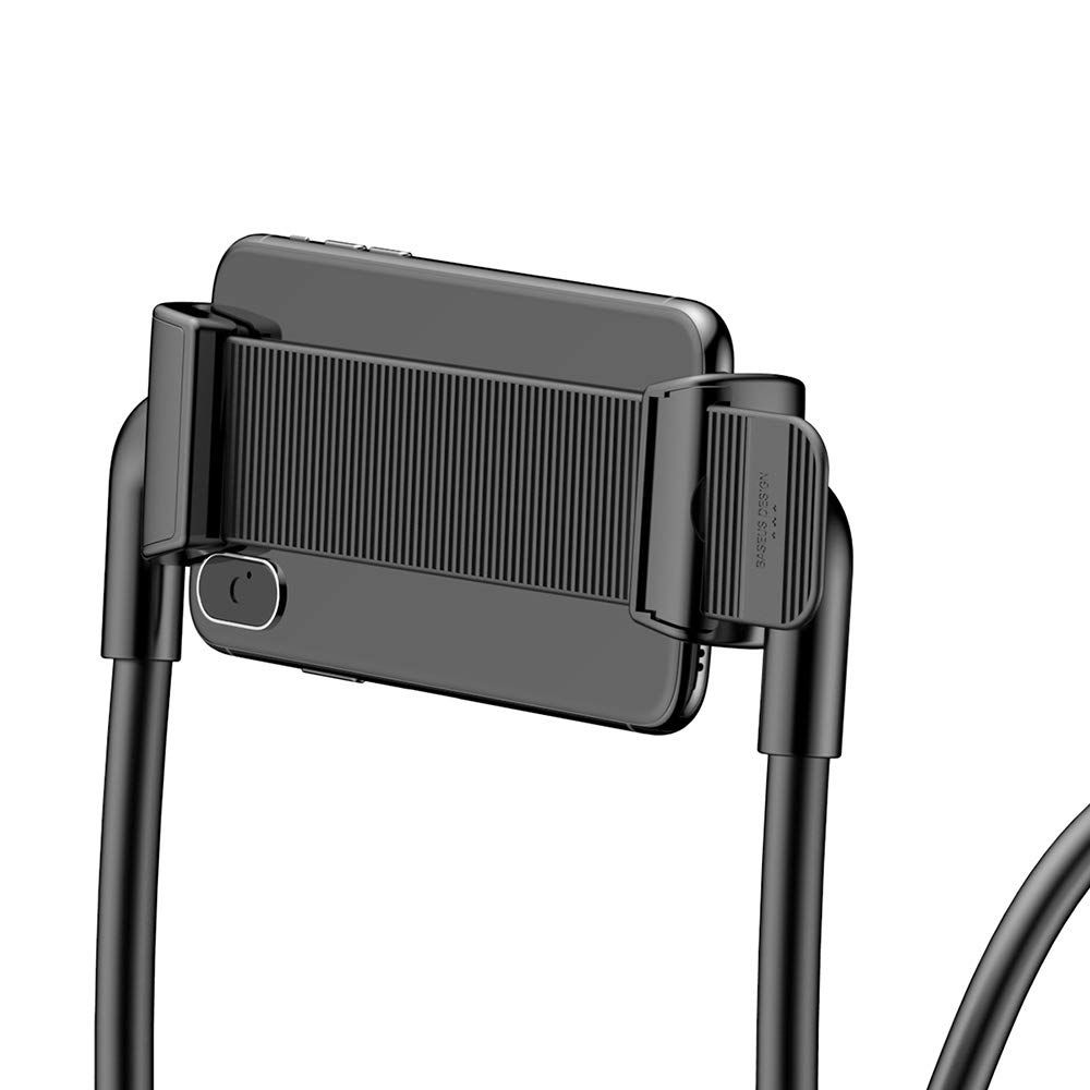 Baseus New Neck Mounted Lazy Bracket Hands Free Phone Holder (5)