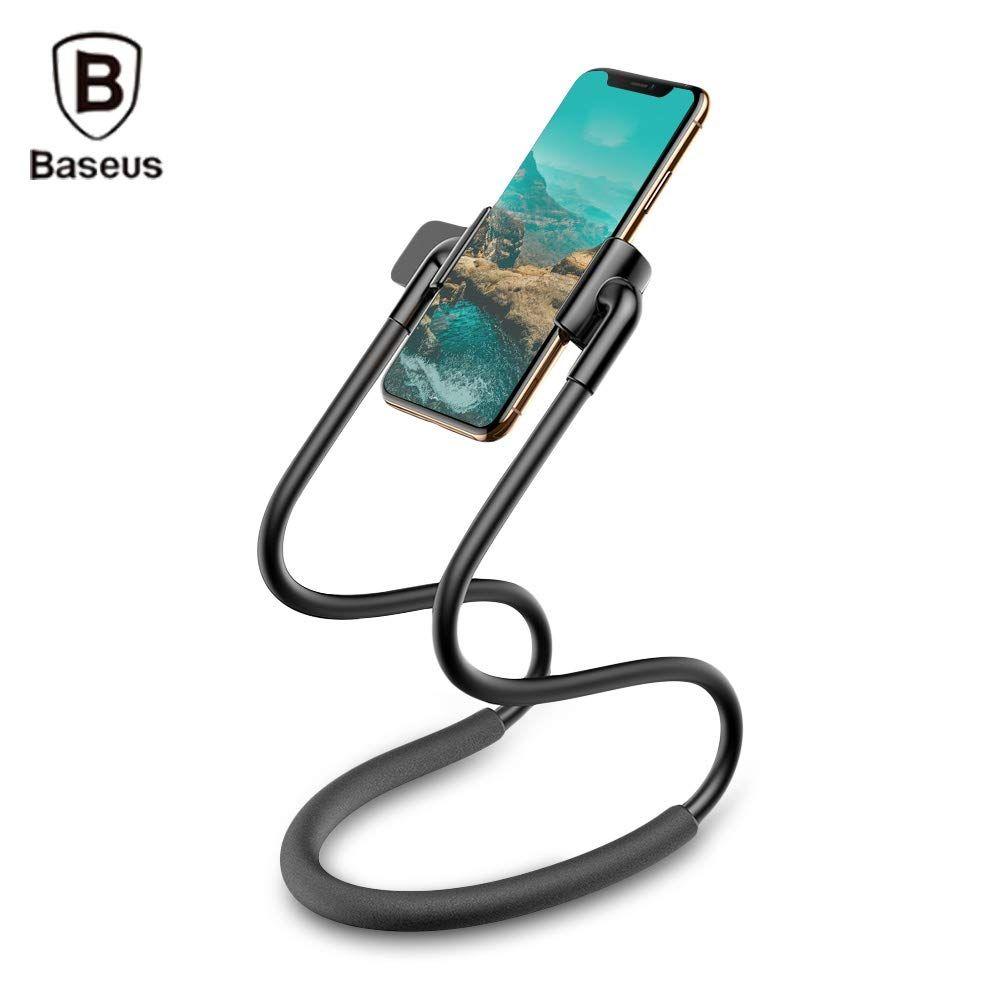 Baseus New Neck Mounted Lazy Bracket Hands Free Phone Holder (6)