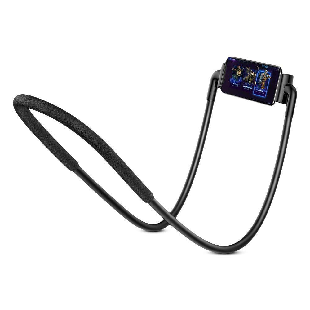 Baseus New Neck Mounted Lazy Bracket Hands Free Phone Holder (7)