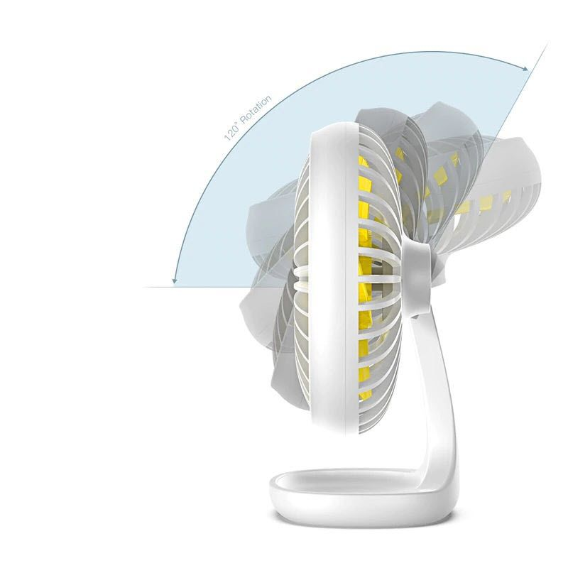 Baseus Portable Usb Fan 3 Speed Mini Fan (3)
