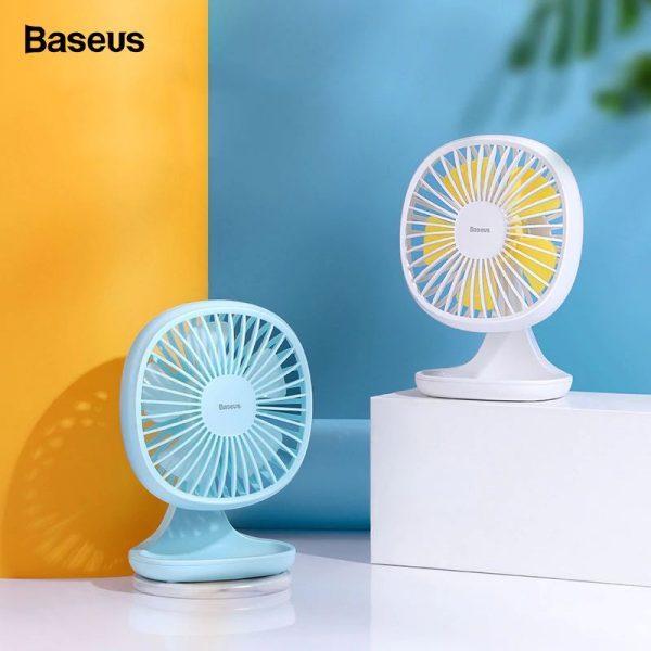 Baseus Portable Usb Fan 3 Speed Mini Fan (5)
