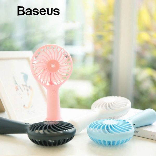 Baseus Protable 3 Speed Mini Usb Rechargeable Fan (7)