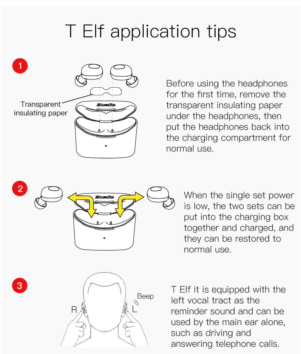 Bluedio T Elf Mini Airpod Bluetooth 5 0 True Wireless Earphone With Charging Box (1)