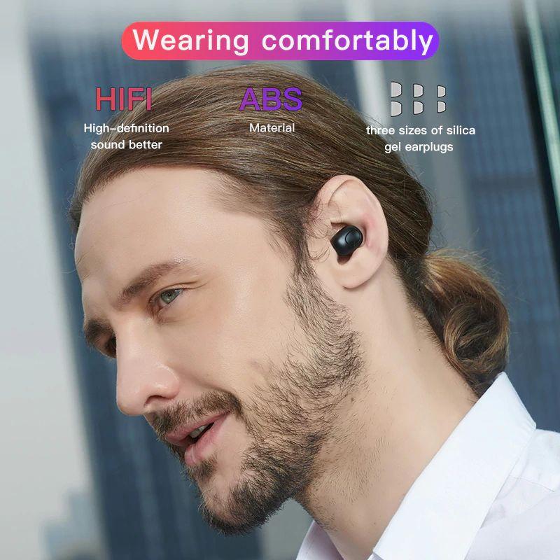 Bluedio T Elf Mini Airpod Bluetooth 5 0 True Wireless Earphone With Charging Box (2)