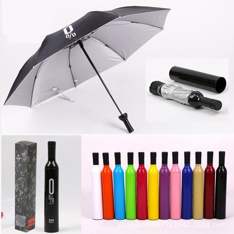Deco Wine Bottle Umbrella (1)