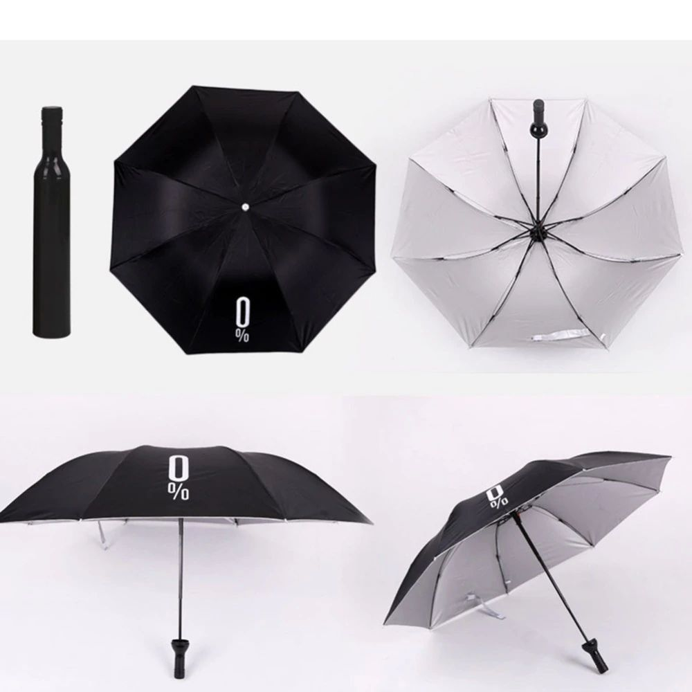 Deco Wine Bottle Umbrella (2)