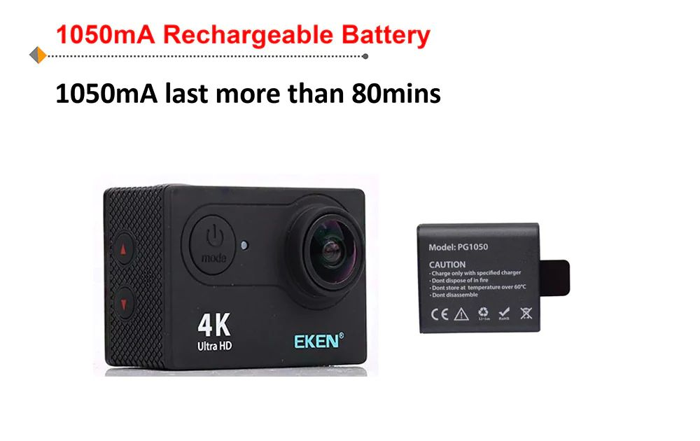 Eken H9r 4k Action Camera Ultra Hd (1)