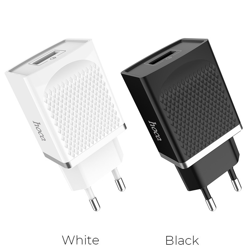 Hoco C42a Qc3 0 Quick Charge Single Usb Power Adapter Charger (3)