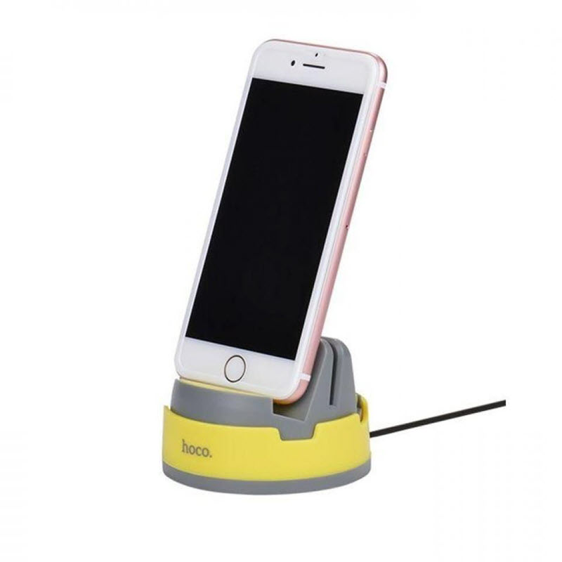 Hoco P3 Multi Function 8 Pin Lightning Charging Dock For Iphones (2)
