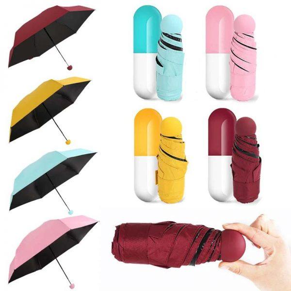 Mini Capsule Umbrella Anti Uv (1)