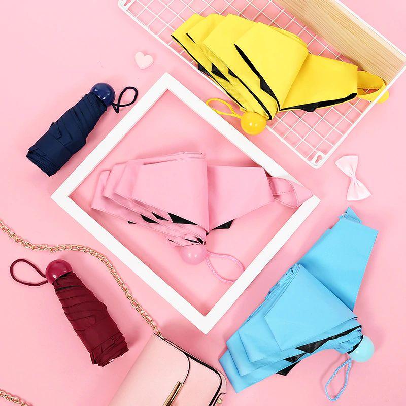 Mini Capsule Umbrella Anti Uv (11)