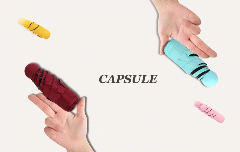 Mini Capsule Umbrella Anti Uv (3)