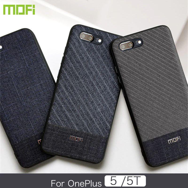 Mofi Business Style Fabrics Case For One Plus 5t (2)