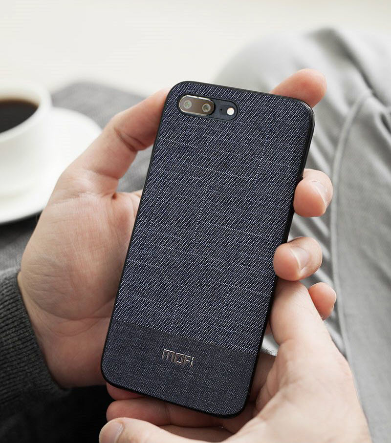 Mofi Business Style Fabrics Case For One Plus 5t (3)